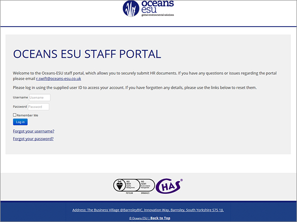 Staff Portals & Tools